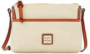 Dooney & Bourke Pebble Grain Ginger Pouchette Shoulder Bag - BONE - STYLE