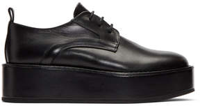 Ann Demeulemeester Black Lux Creeper Derbys