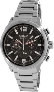 Citizen Men's CA4380-83E Silver Stainless-Steel Japanese Quartz Dress Watch