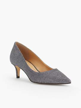 Talbots Erica Lurex® Kitten Heel Pumps