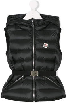 Moncler hooded zipped gilet