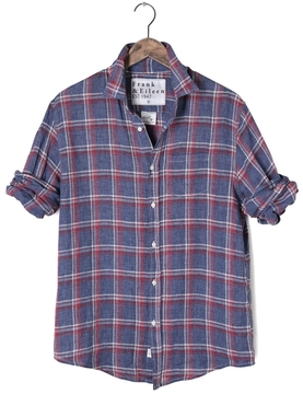 Frank And Eileen Mens Luke Italian Linen Button Down Shirt