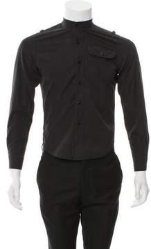 Balenciaga Woven Utility Shirt