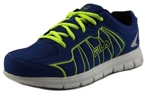 Fila Escalight Youth Round Toe Synthetic Blue Sneakers.