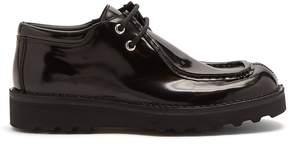 Maison Margiela Lace-up leather desert boots