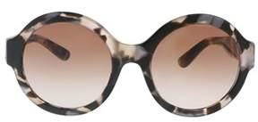 Dolce & Gabbana Dg4331 312013 Pearl Grey Round Sunglasses.