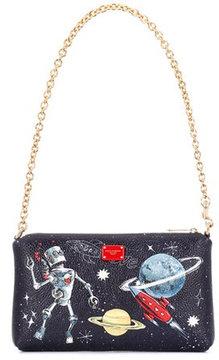 Dolce & Gabbana Printed leather mini bag