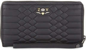 Zadig & Voltaire Compagnon Savage quilted leather wallet