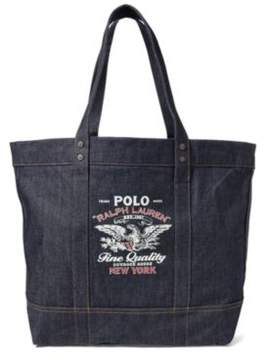 Ralph Lauren Denim Tote Indigo One Size