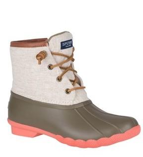 Sperry Women's Saltwater Waterproof Rain Boot