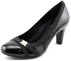 Giani Bernini Vollett Women Round Toe Synthetic Black Heels.