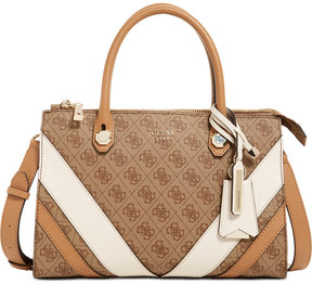 Guess Slater Status Medium Satchel