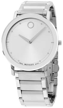 Movado 606881 Stainless Steel Quartz Thin Sapphire 40mm Mens Watch