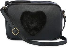 Asstd National Brand Mini Heart Crossbody Bag