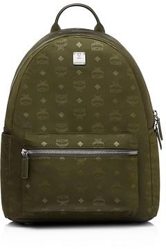 MCM Dieter Monogrammed Nylon Backpack