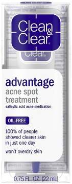 Clean & Clear® Advantage Acne Spot Treatment Acne Medication - .75oz