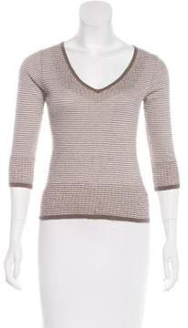Amanda Wakeley Striped Cashmere Sweater
