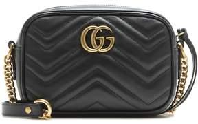 Gucci GG Marmont Mini matelassé leather crossbody bag