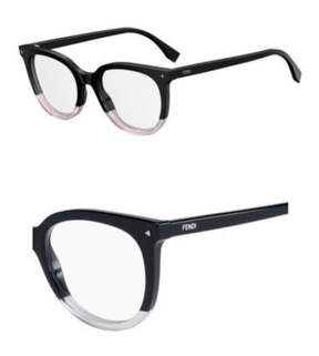 Fendi Eyeglasses Ff 235 03H2 Black Pink