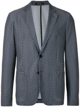 Giorgio Armani classic fitted blazer