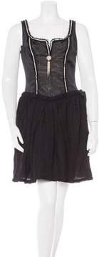 Christian Lacroix Embellished Mini Dress w/ Tags