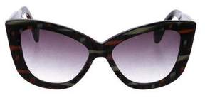 Dita Gradient Butterfly Sunglasses