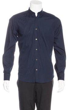 Dries Van Noten Woven Dress Shirt