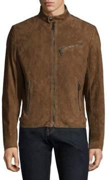 Ralph Lauren Suede Randall Biker Jacket