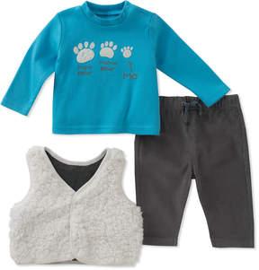 Absorba Boys' 3Pc Vest Set