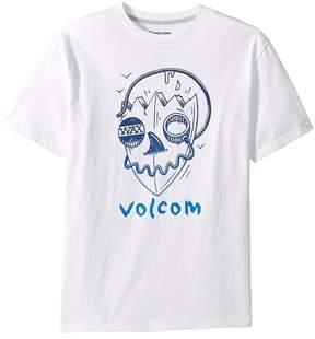Volcom Surf Skull Short Sleeve Tee Boy's T Shirt