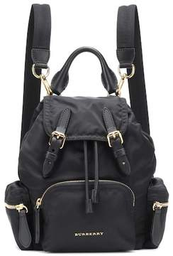 Burberry Leather-trimmed rucksack