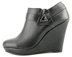 Bar III Womens Tiger Closed Toe Ankle Platform Boots.