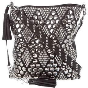Saint Laurent Studded Shoulder Bag