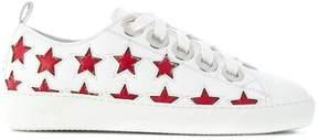 No.21 low-top star sneakers