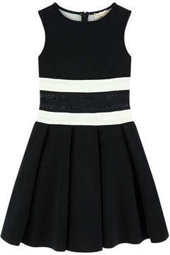 MonnaLisa Neoprene dress with rhinestones