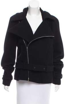 Chanel Belted Wool Jacket