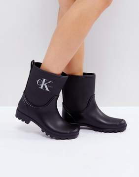 Calvin Klein Jeans Philippa Ankle Wellington Boots