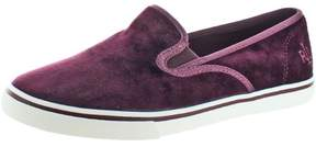 Lauren Ralph Lauren Janis Women's Velvet Slip On Sneakers Shoes