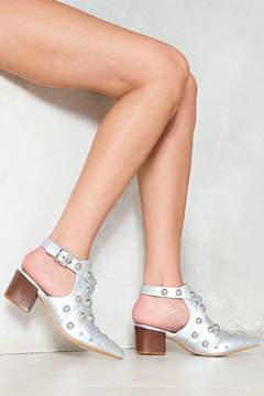 Nasty Gal nastygal Nip It in the Stud Bootie