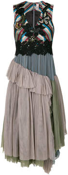 Antonio Marras tulle layered skirt dress