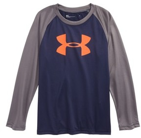 Under Armour Toddler Boy's Big Logo Raglan T-Shirt