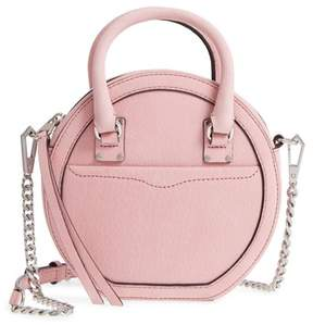 Rebecca Minkoff Bree Circle Crossbody Bag - PINK - STYLE