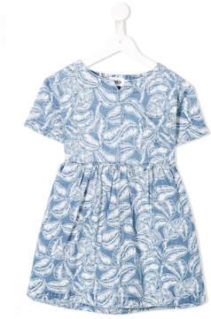 Molo leaf print dress