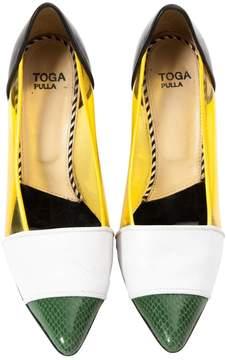 Toga Pulla Leather heels