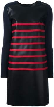 Cédric Charlier two-tone striped dress