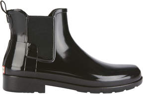 Hunter Refined Chelsea Gloss Rain Boots