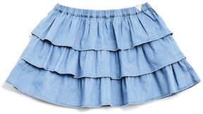 GUESS Chambray Skirt (2-6x)