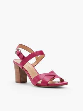 Talbots Bettie Cross-Strap City Sandals