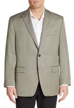 Lauren Ralph Lauren Regular-Fit Herringbone Silk & Wool Sportcoat