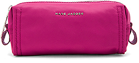 Marc Jacobs Easy Skinny Cosmetic Bag in Fuchsia.